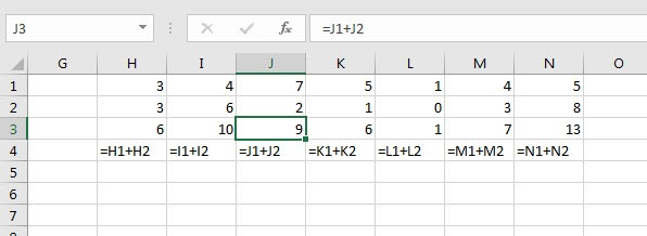 $-in-Formula-column