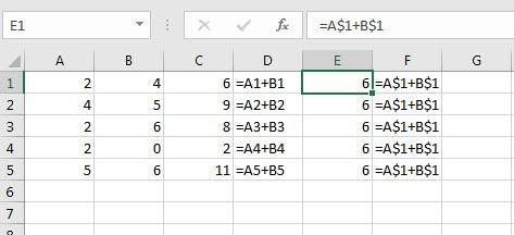 $-in-excel-formula