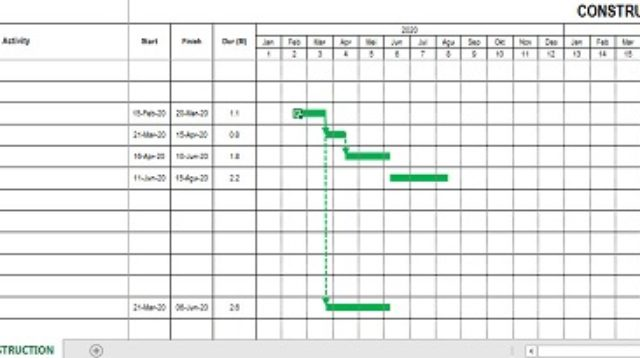 Barchart-Schedul-in-Excel
