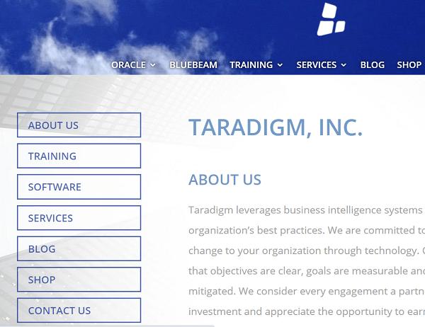 Taradigm Primavera Training