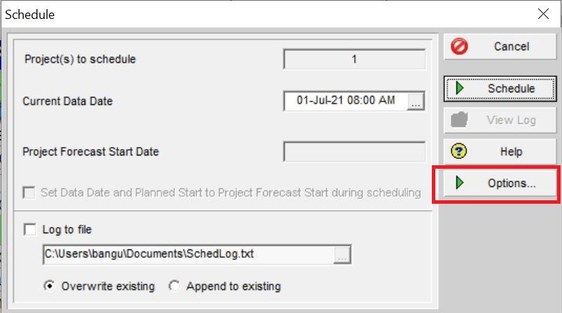 Scheduling-Primavera-4